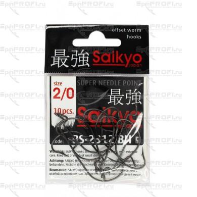 Крючок офсетный SAIKYO BS-2312 BN #2/0