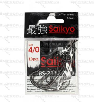 Крючок офсетный SAIKYO BS-2312 BN #4/0