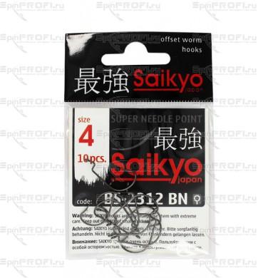Крючок офсетный SAIKYO BS-2312 BN #4