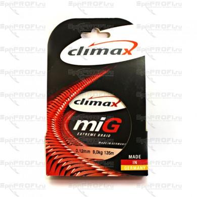 Плетеный шнур CLIMAX Mig Extreme Braid (Жёлт.) 135м 0,12мм