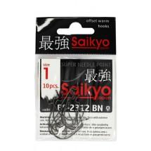 Крючок офсетный SAIKYO BS-2312 BN #1