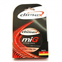 Плетеный шнур CLIMAX Mig Extreme Braid (Жёлт.) 135м 0,10мм