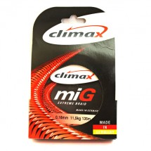 Плетеный шнур CLIMAX Mig Extreme Braid (Жёлт.) 135м 0,16мм