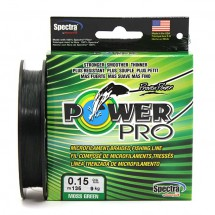 Плетеный шнур Power Pro Moss Green 135м 0.15мм