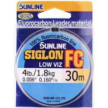 Флюорокарбоновая леска Sunline Siglon FC 30м 0.160