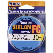 Флюорокарбоновая леска Sunline Siglon FC 30м 0.245