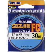 Флюорокарбоновая леска Sunline Siglon FC 30м 0.290