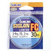 Флюорокарбоновая леска Sunline Siglon FC 30м 0.310
