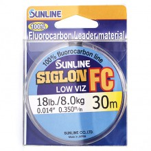 Флюорокарбоновая леска Sunline Siglon FC 30м 0.350