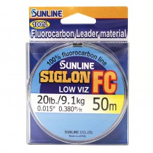 Флюорокарбоновая леска Sunline Siglon FC 50м 0.380