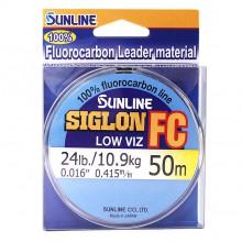 Флюорокарбоновая леска Sunline Siglon FC 50м 0.415