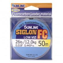 Флюорокарбоновая леска Sunline Siglon FC 50м 0.445