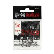 Крючок офсетный SAIKYO BS-2312 BN #1/0
