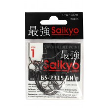 Крючок офсетный SAIKYO BS-2315 BN #1