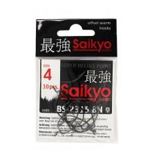 Крючок офсетный SAIKYO BS-2315 BN #4