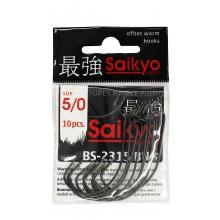 Крючок офсетный SAIKYO BS-2315 BN #5/0