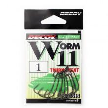 Офсетный крючок Decoy Worm 11 №1 (9шт.)