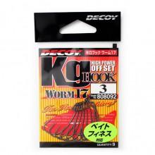 Офсетный крючок Decoy Worm 17 №3 (9шт.)