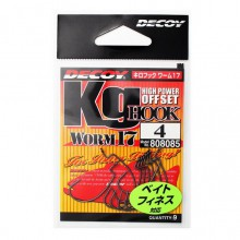 Офсетный крючок Decoy Worm 17 №4 (9шт.)