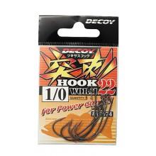 Офсетный крючок Decoy Worm 22 №1/0 (4шт.)