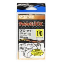 Офсетный крючок OWNER Twistlock 5167 1/0 с креплением для приманки