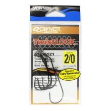 Офсетный крючок OWNER Twistlock 5167 2/0 с креплением для приманки