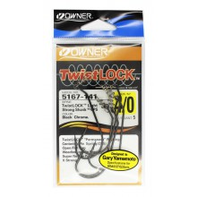 Офсетный крючок OWNER Twistlock 5167 4/0 с креплением для приманки