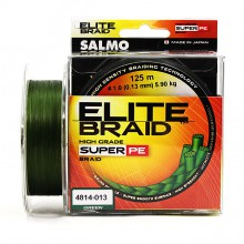 Плетеная леска шнур Salmo Elite BRAID Green 125 0,13мм
