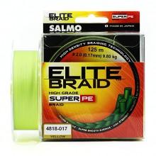 Плетеная леска шнур Salmo Elite BRAID Yellow 125 0,17мм