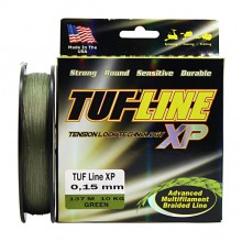 Плетеный шнур Tuf-line XP Green 137m 0.15mm, 10kg