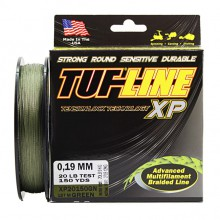 Плетеный шнур Tuf-line XP Green 137m 0.19mm, 12kg