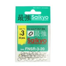 Заводное кольцо SAIKYO FNSR-3-20 #3 тест 20кг (20шт.)